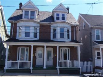 Rental Homes for Rent, ListingId:35105409, location: 332 6Th Avenue Bethlehem 18018