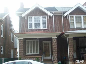 Rental Homes for Rent, ListingId:35356909, location: 124 North 18Th Street Allentown 18104