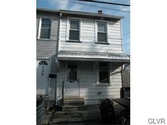 Rental Homes for Rent, ListingId:35358489, location: 737 North Fair Street Allentown 18102