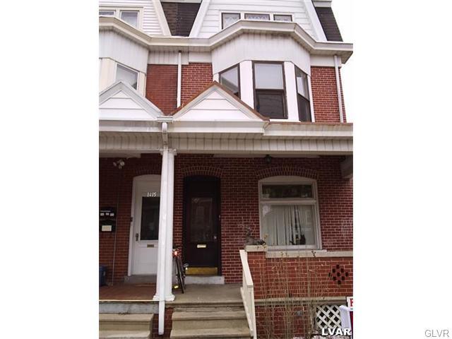 Rental Homes for Rent, ListingId:37152709, location: 1413 West Union Street Allentown 18102