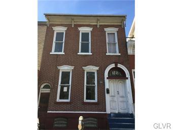 Rental Homes for Rent, ListingId:36243745, location: 118 North 8th Street Allentown 18101