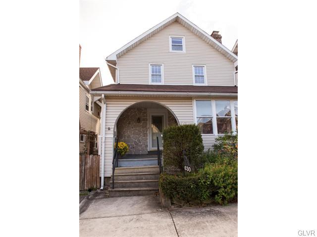 Rental Homes for Rent, ListingId:36345032, location: 630 16Th Avenue Bethlehem 18018