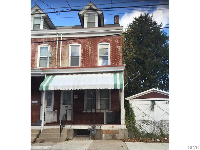 Rental Homes for Rent, ListingId:36445586, location: 427 North Fulton Street Allentown 18102