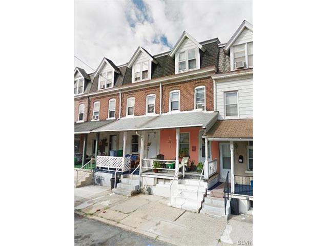Photo of 738 South Hall Street  Allentown City  PA