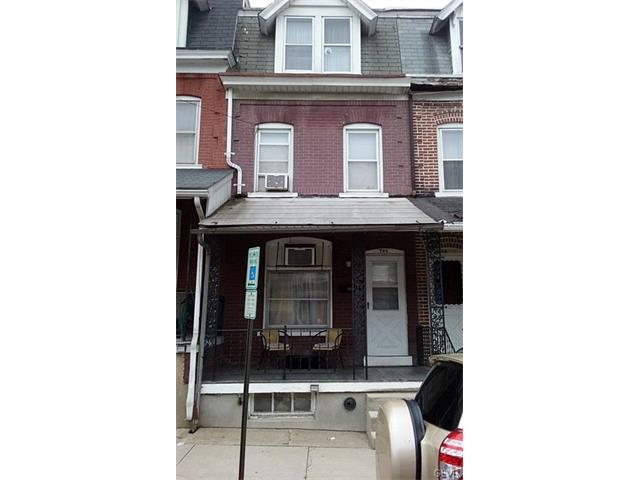 Photo of 746 South Hall Street  Allentown City  PA