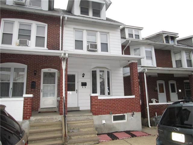 Photo of 406 12 Halstead Street  Allentown City  PA
