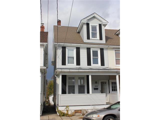Photo of 208 West Hazard Street  Summit Hill Borough  PA