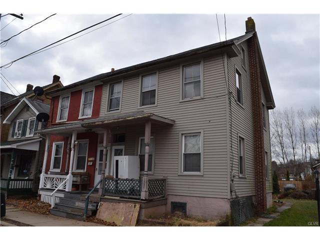 Photo of 208 White Street  Weissport Borough  PA
