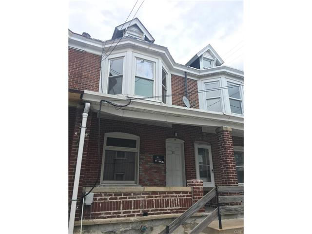 Photo of 21 South Brook Street  Allentown City  PA