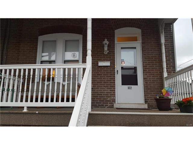 Photo of 322 Peach Street  Catasauqua  PA