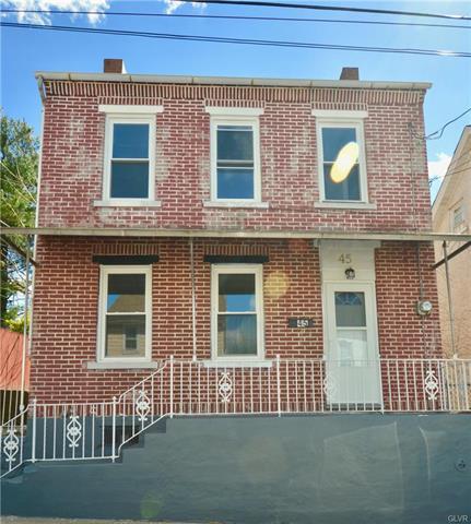 45 Garrison Street, Bethlehem in Northampton County, PA 18018 Home for Sale