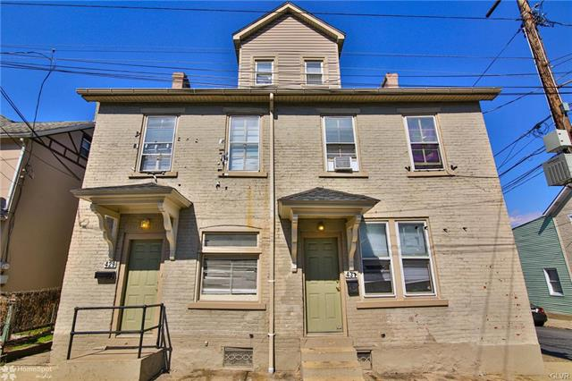 429 431 East 5Th Street, Bethlehem in Northampton County, PA 18015 Home for Sale