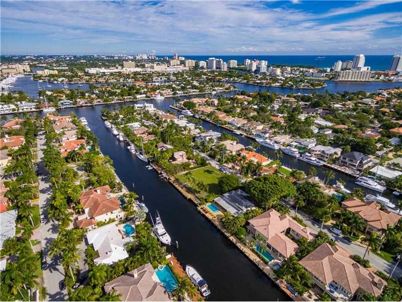 163  Royal Palm Drive, Fort Lauderdale Beach Waterfront for Sale