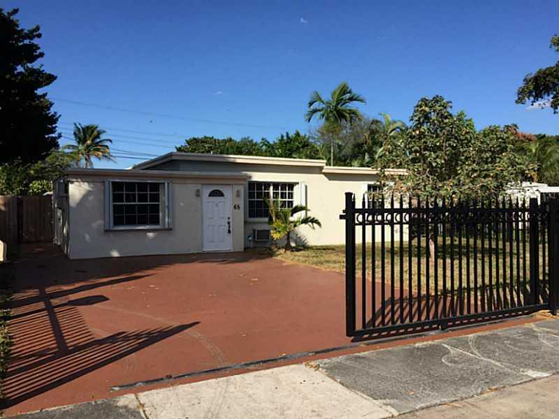 Rental Homes for Rent, ListingId:37269917, location: 65 Northwest 120 ST North Miami 33168