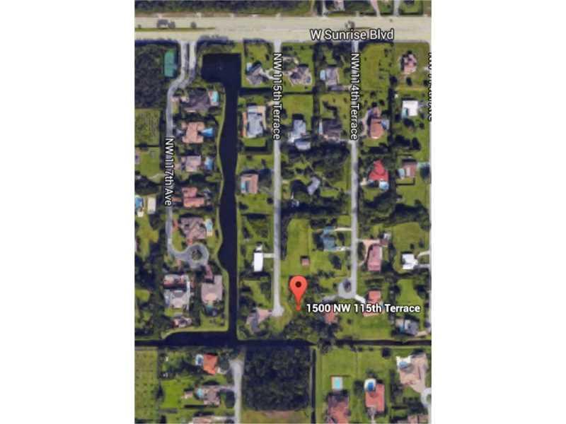 Photo of 1500 NW 115th Ter  Plantation  FL