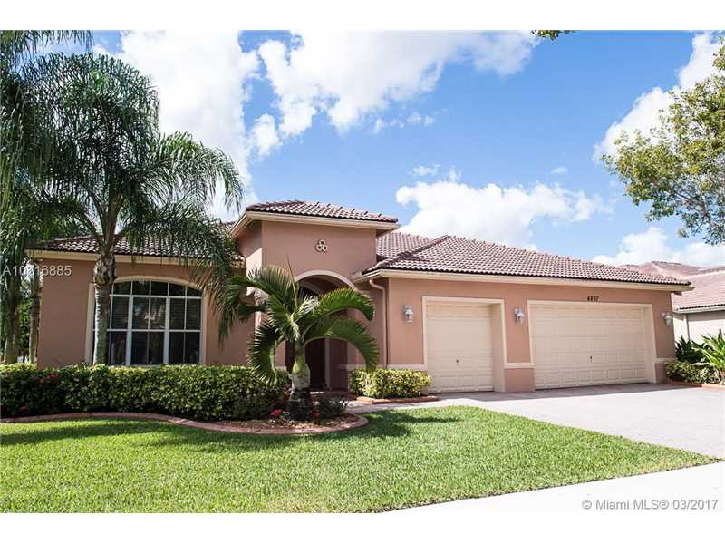 Photo of 4897  Citrus Way  Cooper City  FL