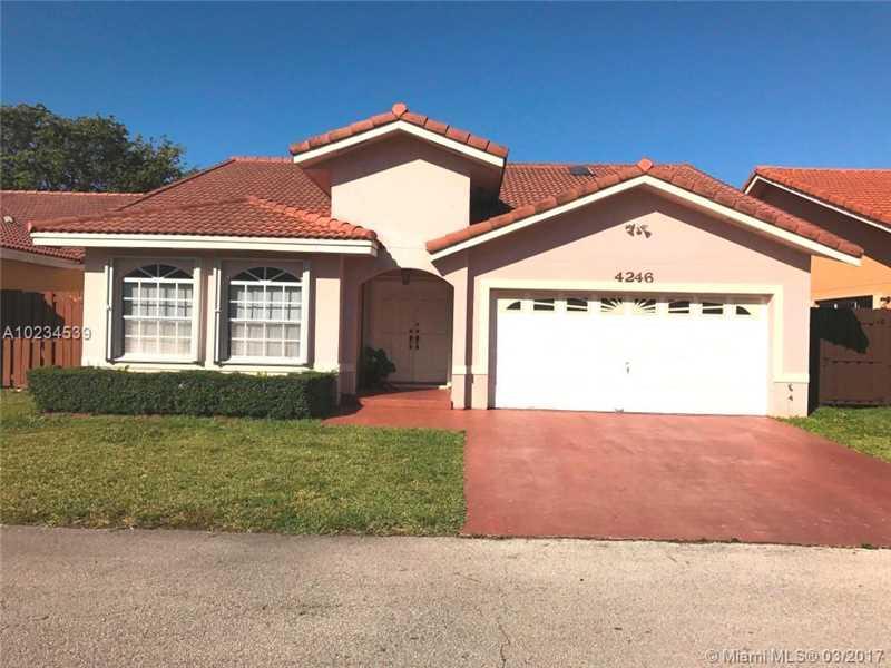 Photo of 4246 Southwest 153rd Pl  Miami  FL