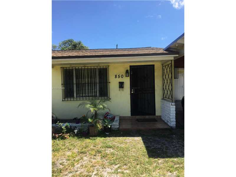Photo of 850 Northwest 128th St  North Miami  FL