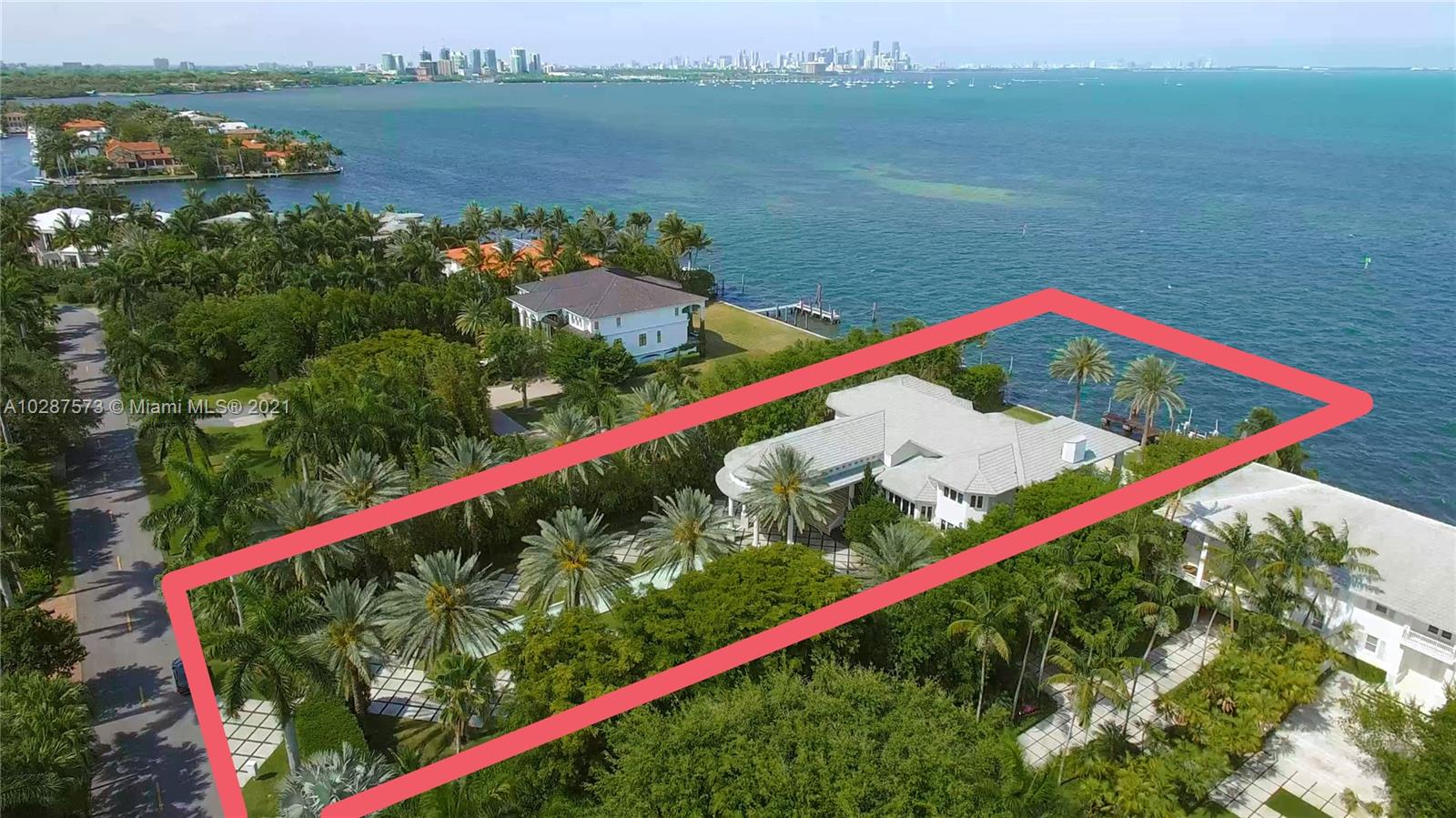 12 Tahiti Beach Island Rd, South Miami Ocean View for Sale
