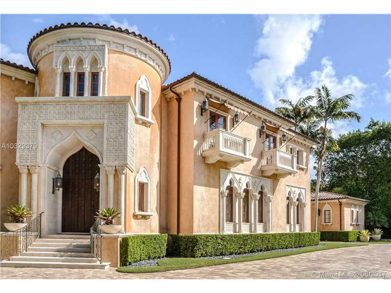 515 Casuarina Concourse, South Miami Tennis Court for Sale