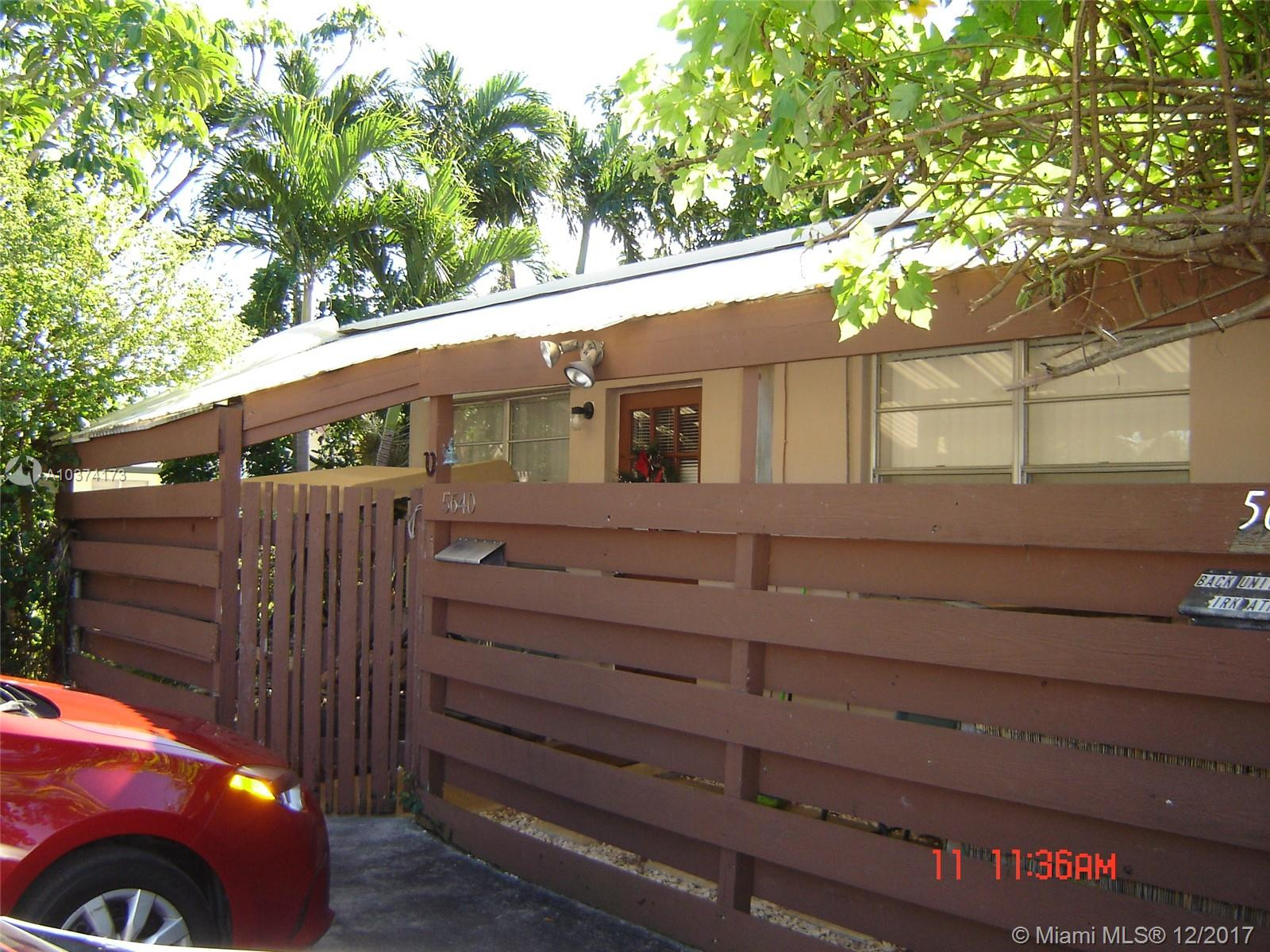 One of Hollywood Homes for Sale at 5640-5642 Grant St