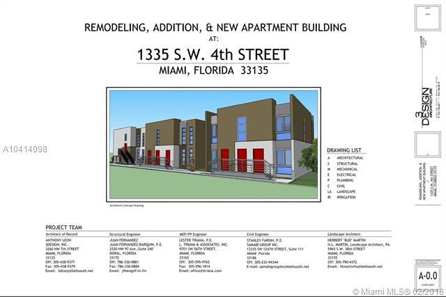 1335 Sw 4th St Miami, FL 33135