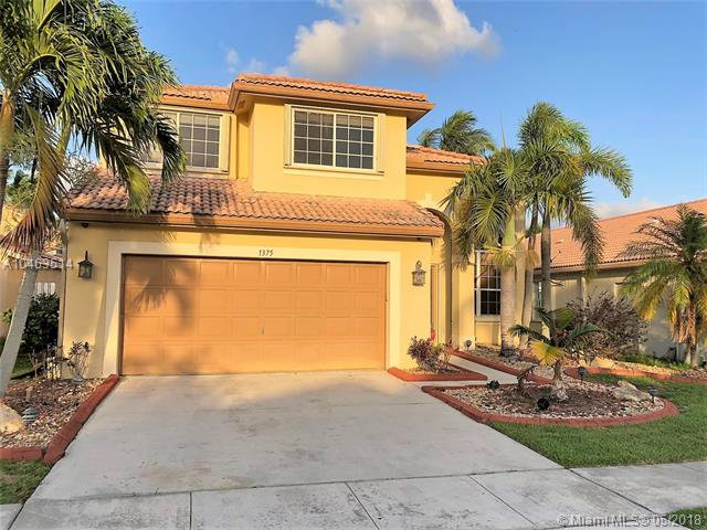 1375 SW 181st Ave, Pembroke Pines in Broward County County, FL 33029 Home for Sale