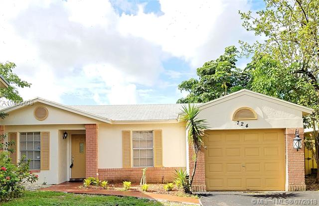 Davie Homes for Sale -  New Listing,  724 Cumberland Ter