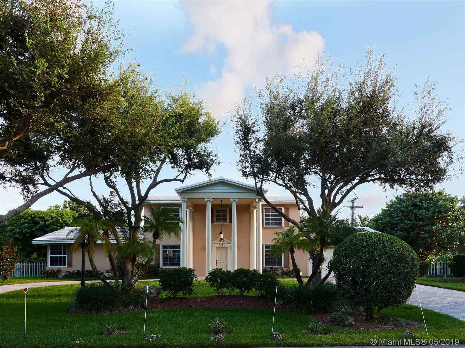 7380 SW 117 Terr, Pinecrest in Miami-dade County County, FL 33156 Home for Sale