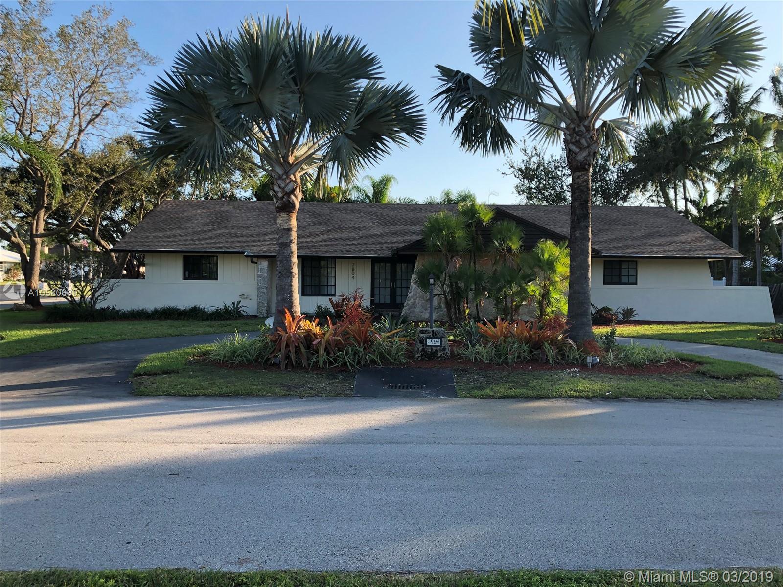 7804 SW 178th Terrace, Palmetto Bay-Miami, Florida