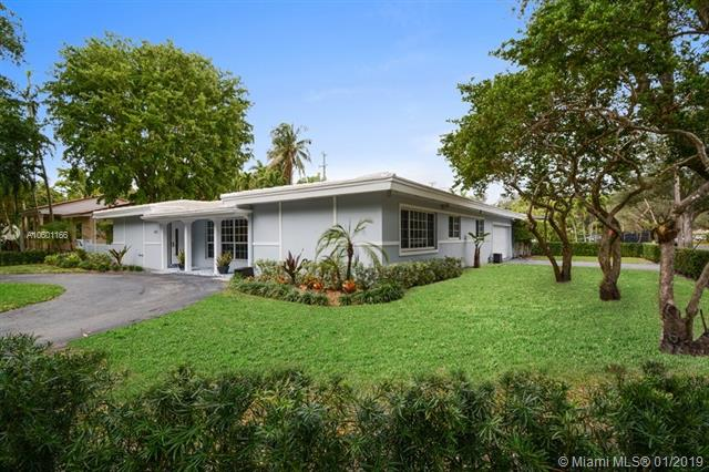 615 Sunset Rd, South Miami Pool for Sale