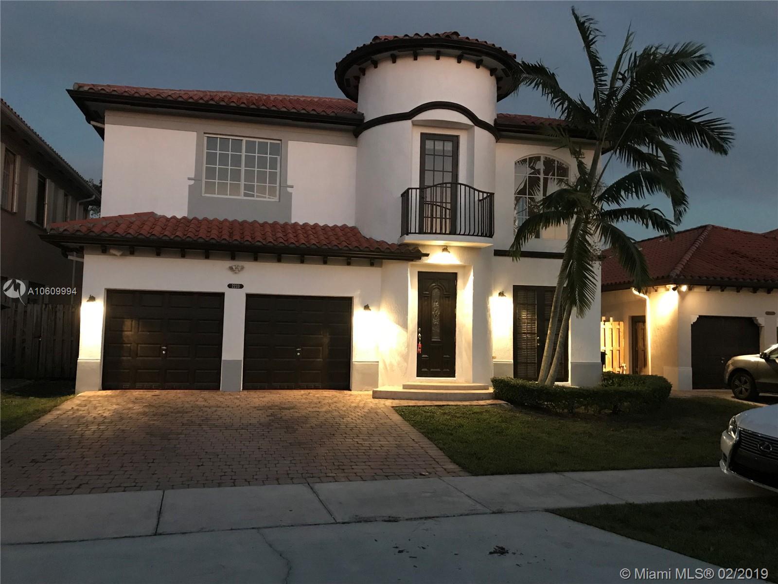 2233 Sw 153rd Path Miami, FL 33185