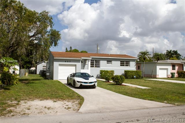 One of Homestead 4 Bedroom Homes for Sale at 437 NW 11th St