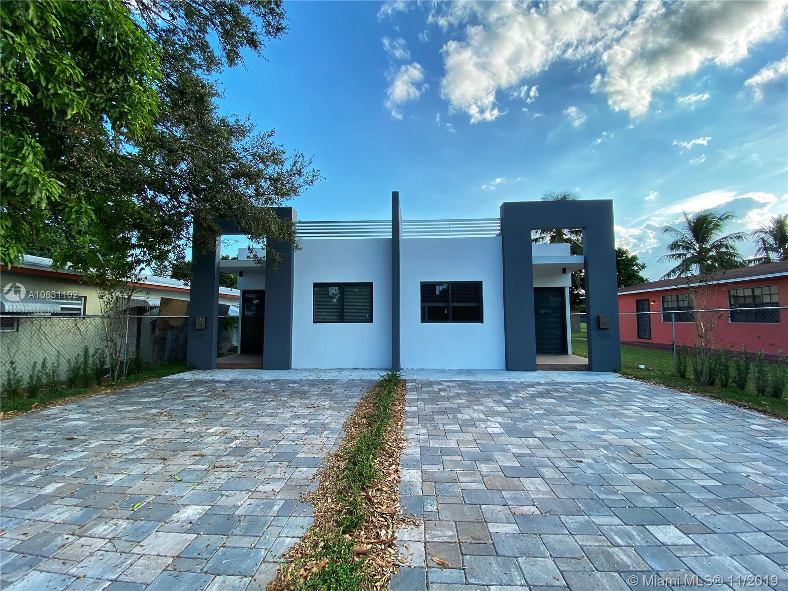 1218-1216 NE 112 ST, one of homes for sale in Miami Shores