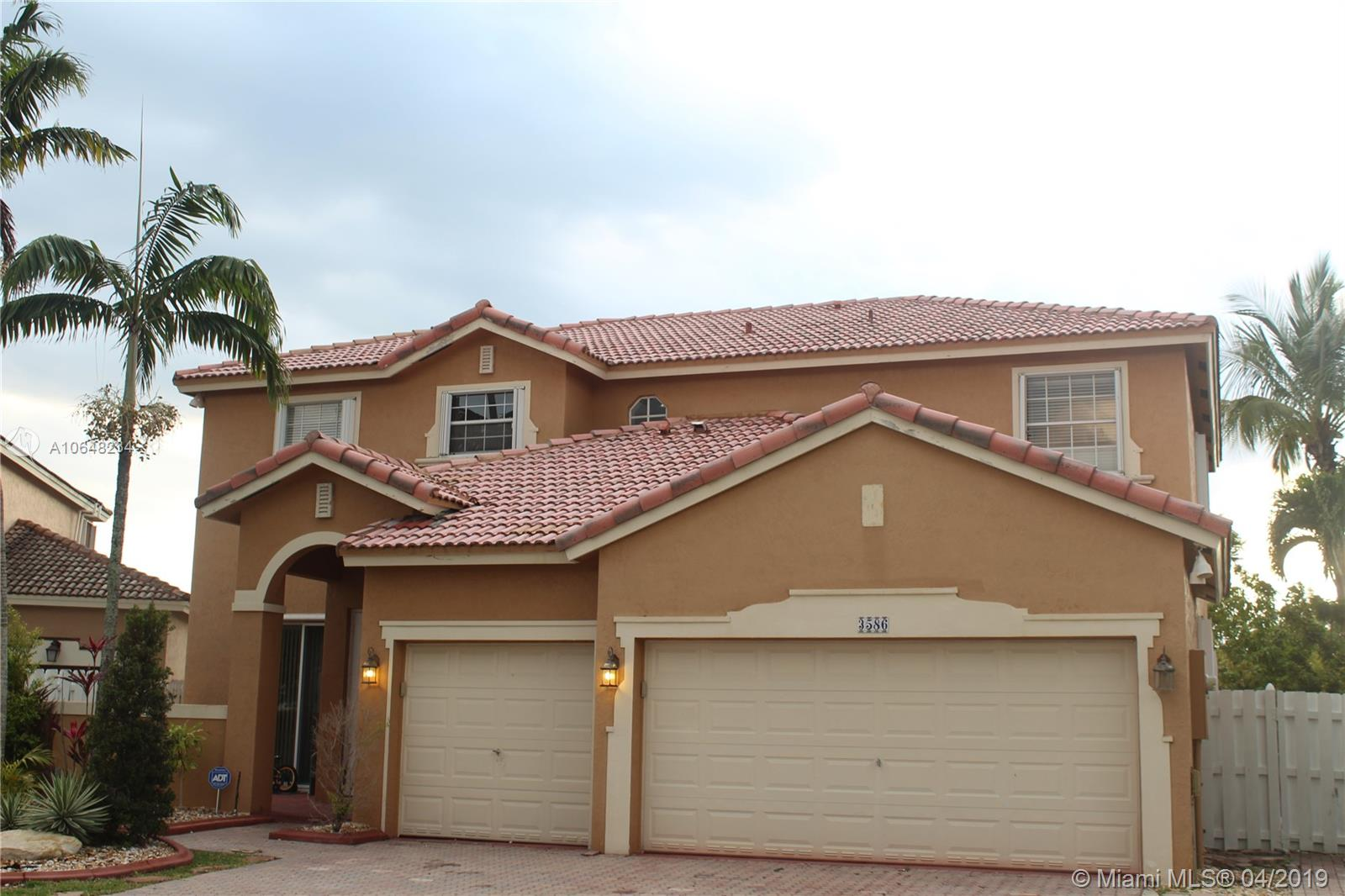 One of Miramar 5 Bedroom Homes for Sale at 3586 SW 143rd Ave