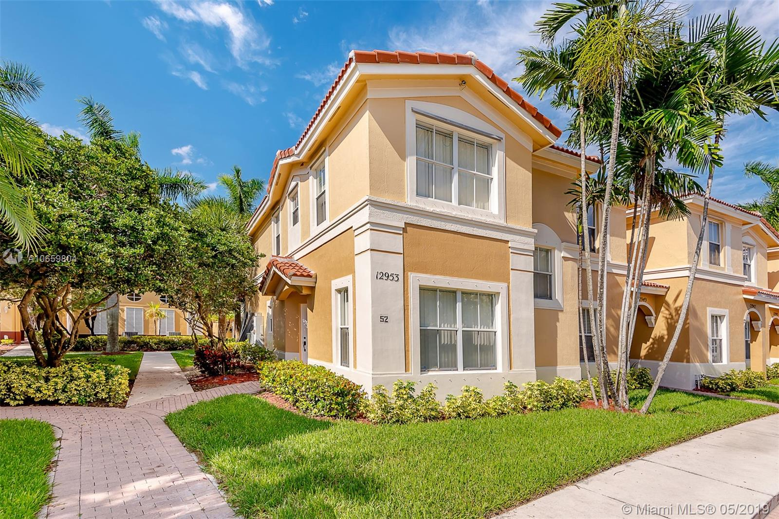 Miramar Homes for Sale -  Townhome,  12953 SW 31 Ct