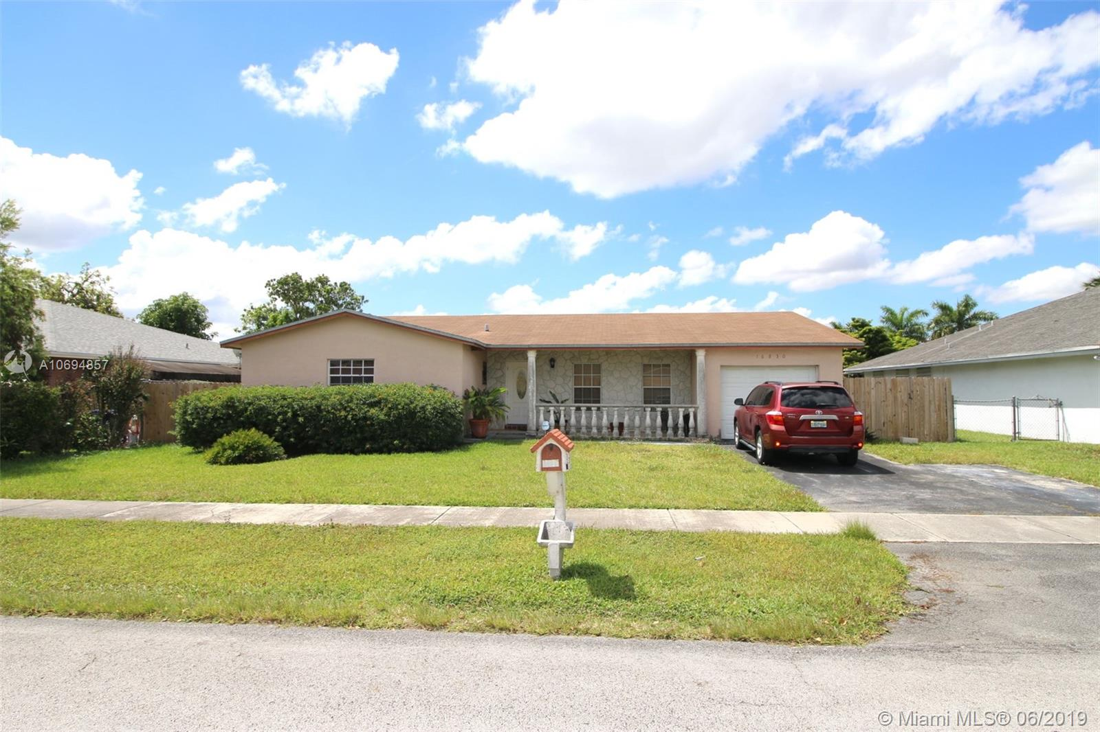 Price Reduced property for sale at 16830 SW 109th Ave, Kendall Florida 33157