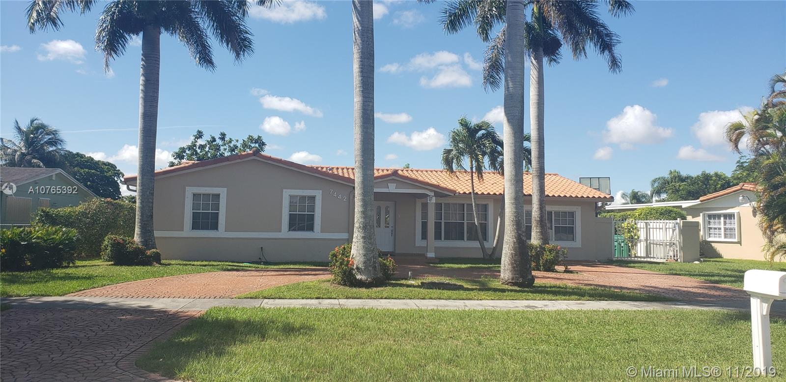 7442 SW 127th Dr, Kendall in Miami-dade County County, FL 33183 Home for Sale