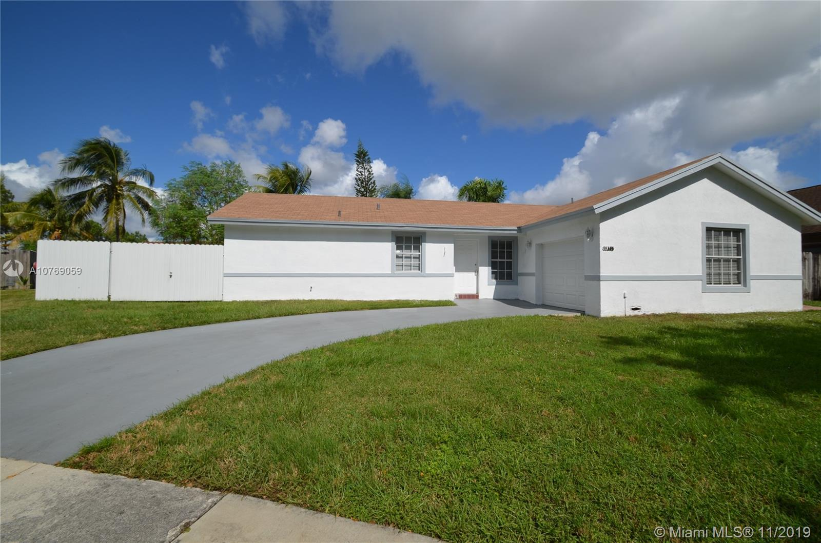 11345 SW 157th Ter, Kendall in Miami-dade County County, FL 33157 Home for Sale