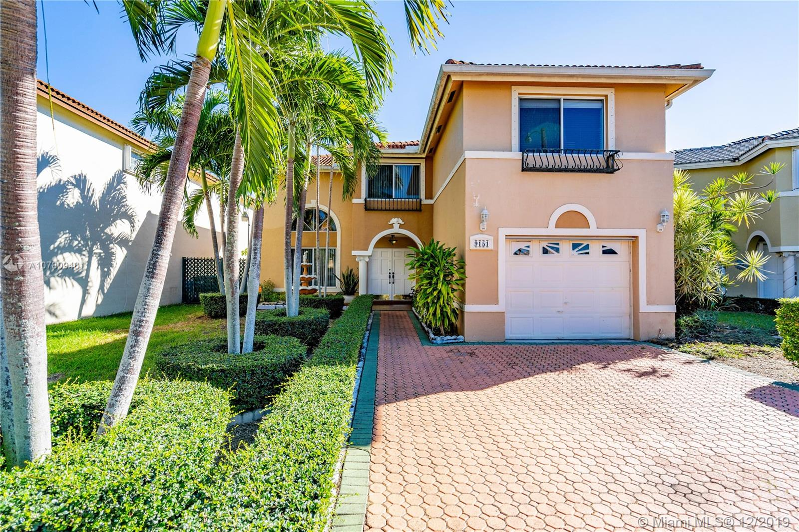 9151 SW 156th Ct, Kendall in Miami-dade County County, FL 33196 Home for Sale
