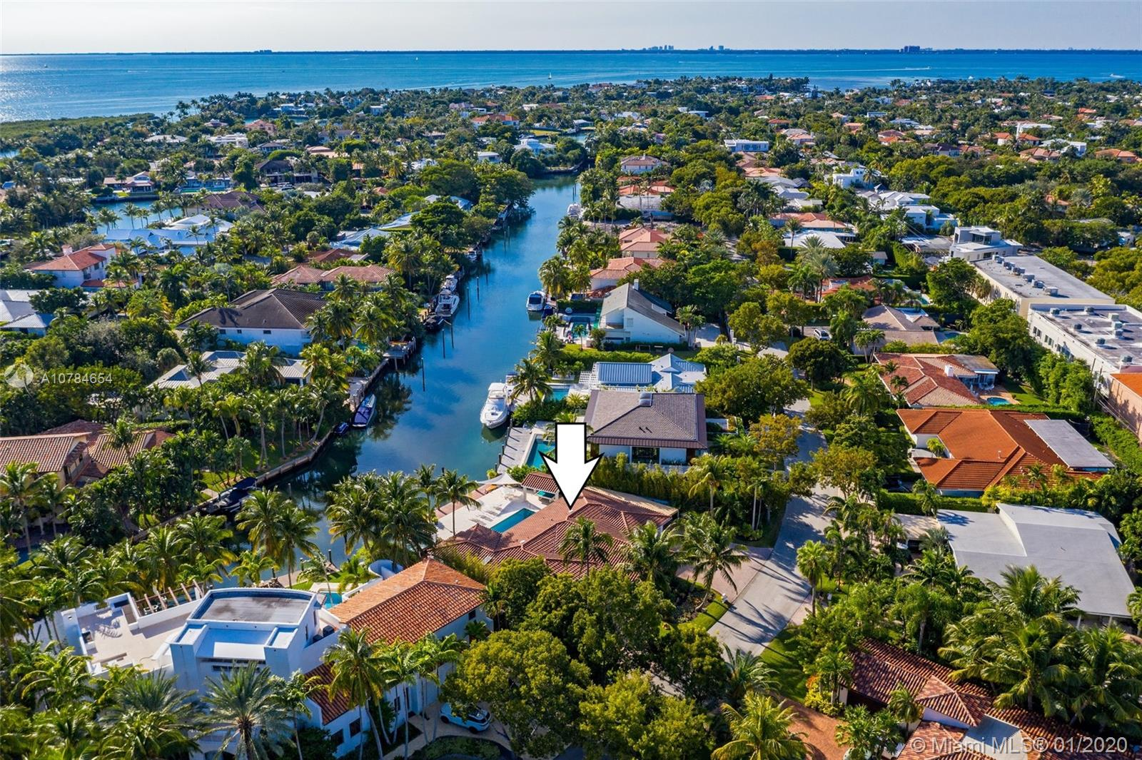 110 Island Dr, one of homes for sale in Key Biscayne