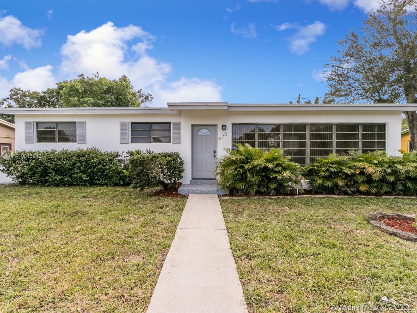 670 NE 178th St, Miami Shores, Florida