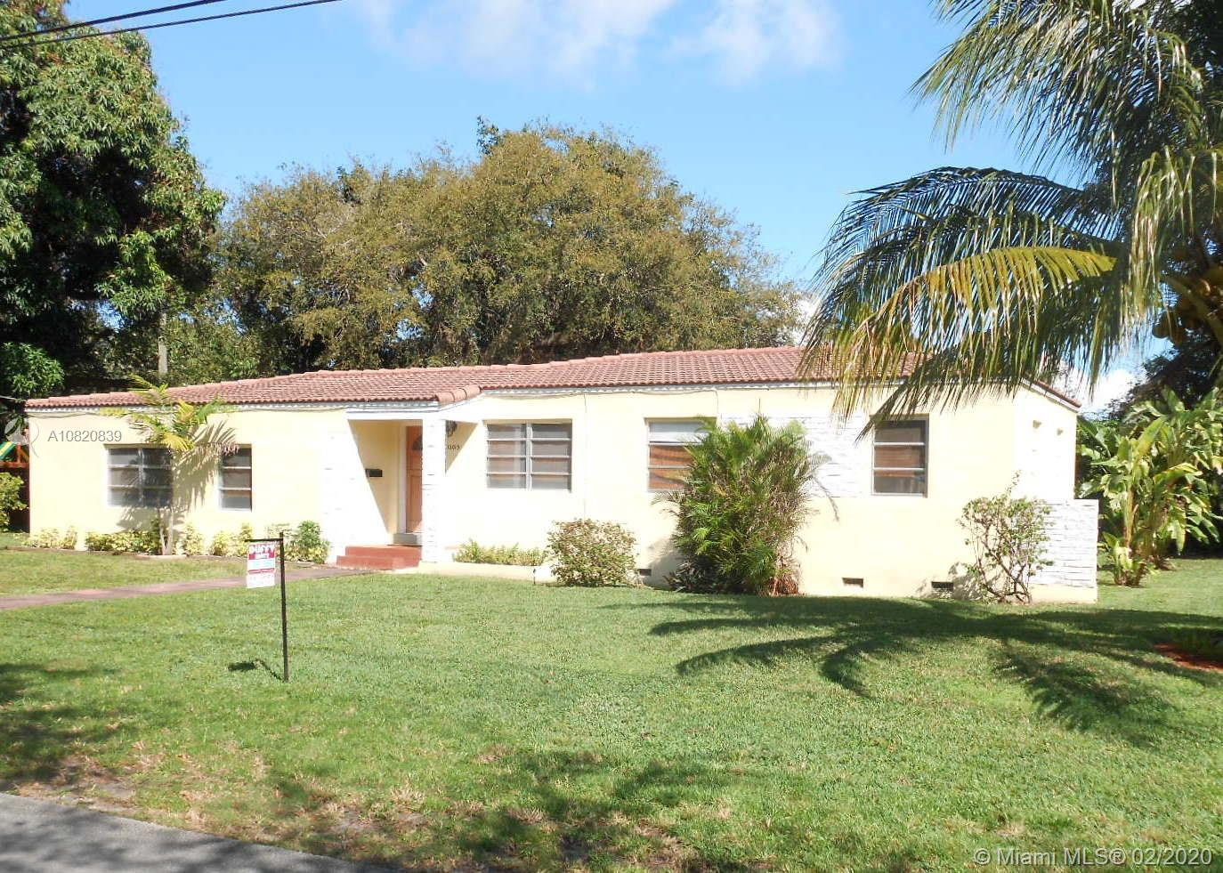 One of Miami Shores 3 Bedroom Homes for Sale at 12015 NE 10th Ave