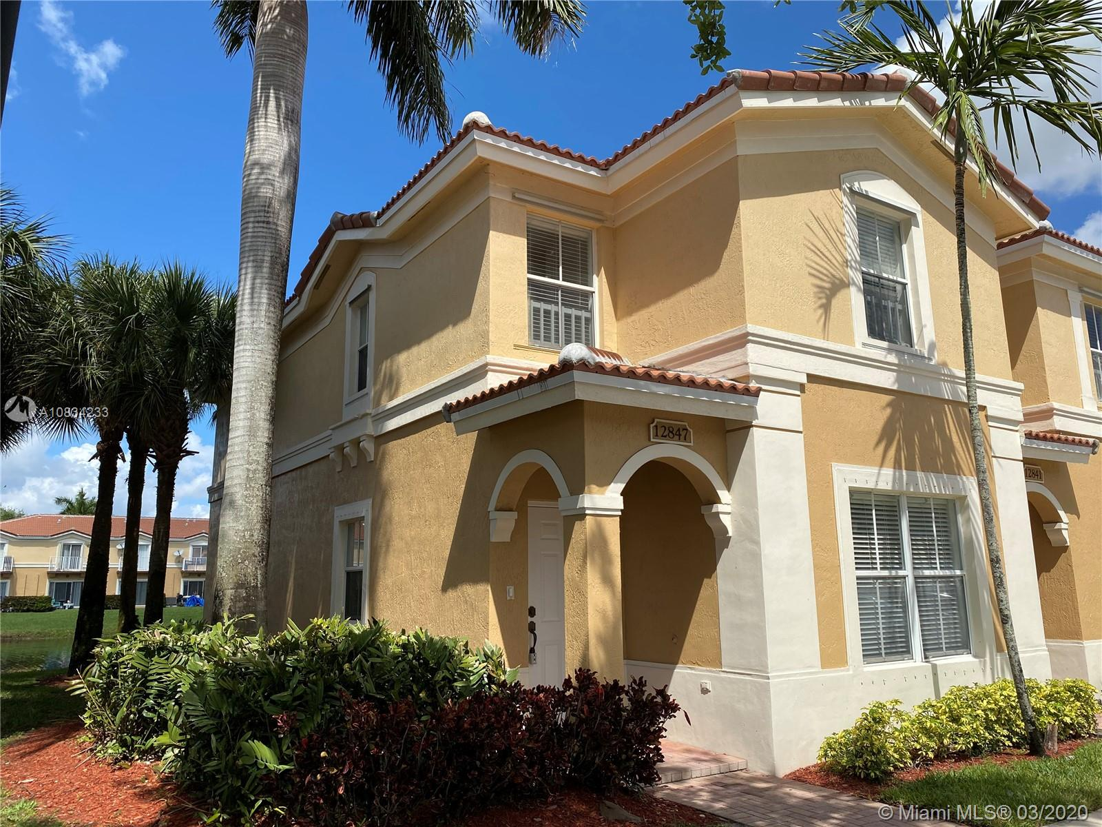 Miramar Homes for Sale -  Townhome,  12847 SW 31st Ct