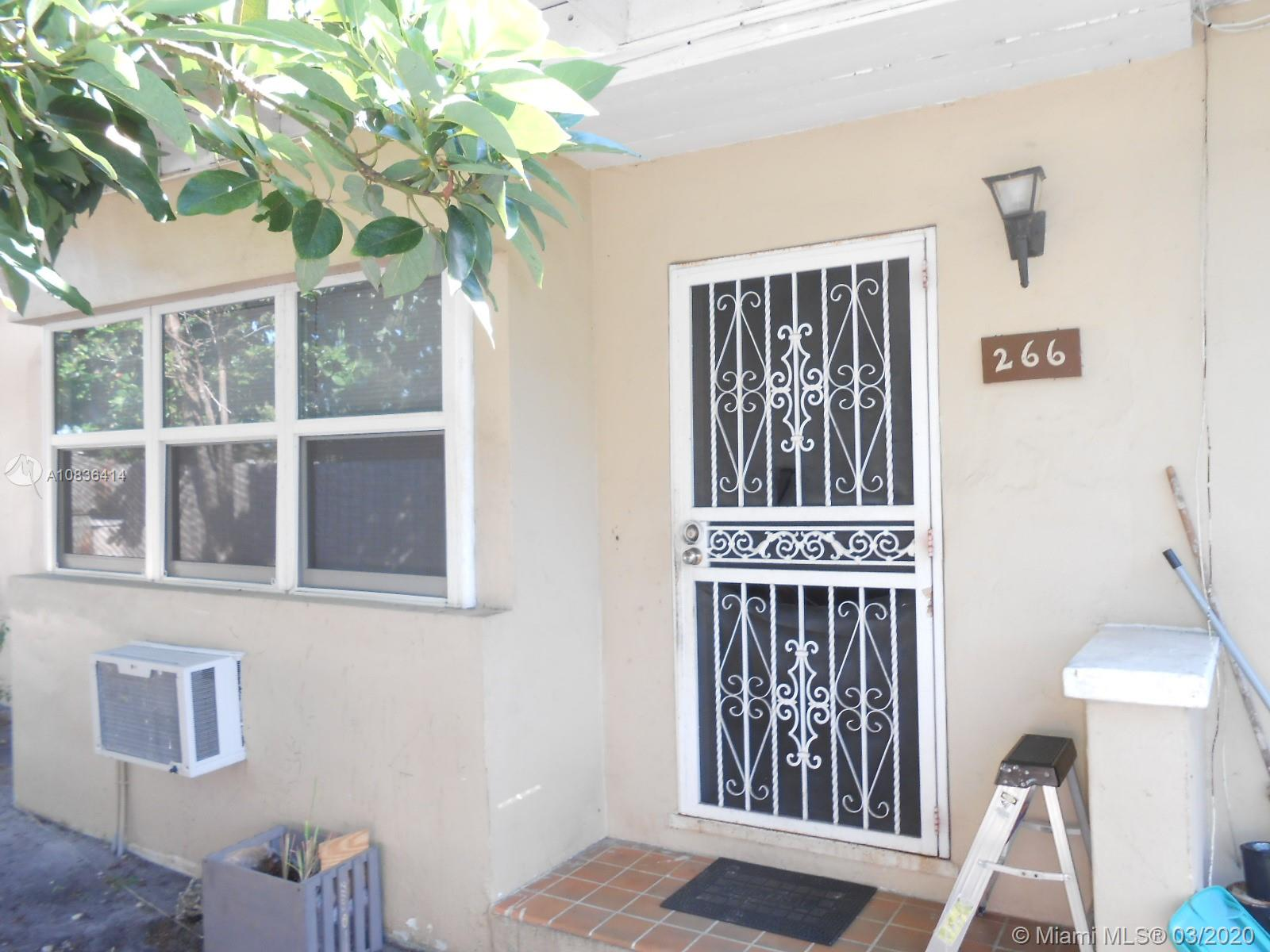 One of Miami Shores Homes for Sale at 266-268 NE 111th St