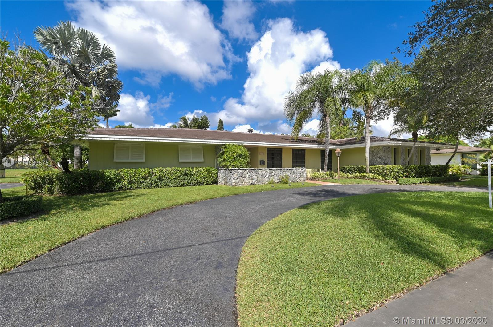 11700 SW 72nd Ave, Coral Gables in Miami-dade County County, FL 33156 Home for Sale