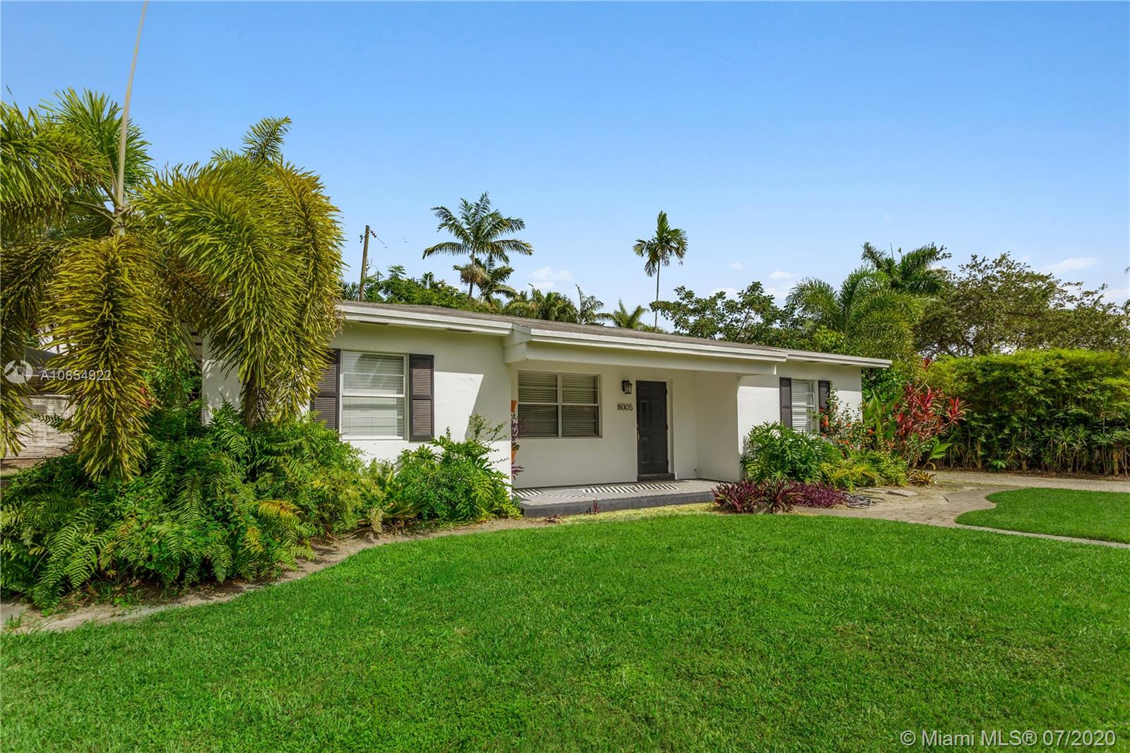 8005 SW 63rd Pl, Coral Gables in Miami-dade County County, FL 33143 Home for Sale
