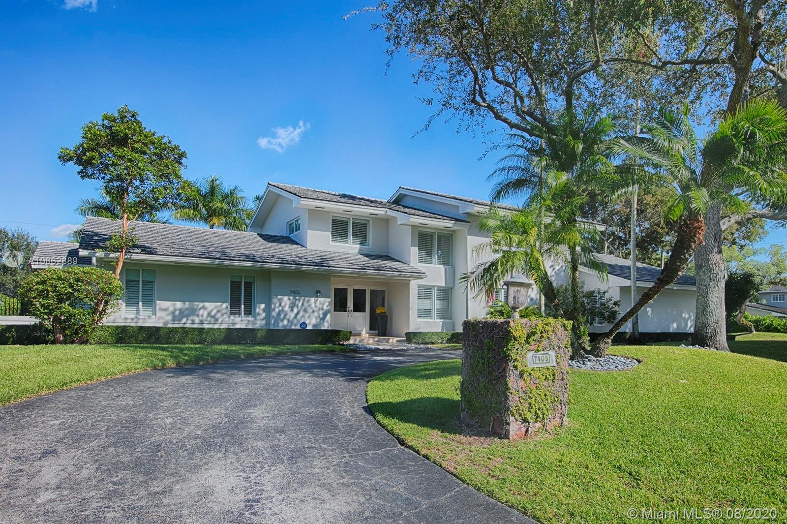 7405 SW 115th St, Coral Gables in Miami-dade County County, FL 33156 Home for Sale