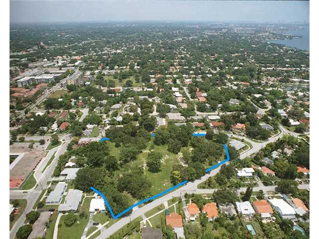 2.89 acres in Miami Shores, Florida