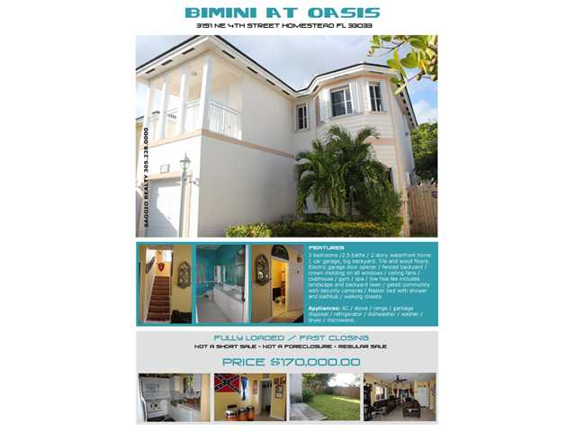 3151 NE 4th St, Homestead, FL 33033